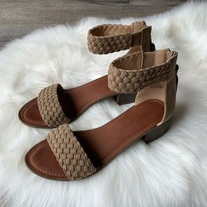 Rock Candy Taupe Summer Sandal